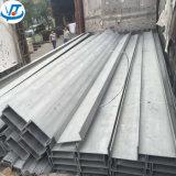 Het Poolse Kanaal van U van het Roestvrij staal van de Oppervlakte met 100X50mm