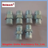Kohlenstoff Steel Hydraulic Fitting Adapter durch CNC Machining