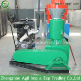 máquina pequena da pelota da serragem do motor 100-200kg/H Diesel