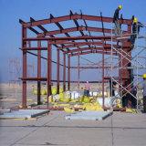 Amplia gama Taller de estructura de acero con la instalación