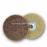 Acabamento de superfície de metal e madeira Mudança Rápida da roda de polimento de Nylon