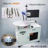 Minimetallfaser-Laser-Gravierfräsmaschine mit Dreh