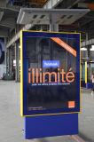 Коробка алюминиевой рамки солнечная приведенная в действие рекламируя светлая