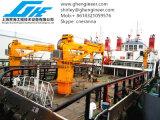 La flèche télescopique navire maritime grue de pont 7t@10m