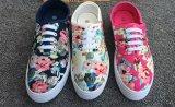 نساء يتلقّى أحذية مع زهرات طباعة, نمو سيدة [شوس], نساء/سيدة [كسول شو], [21000بيرس], فقط [أوسد1/بيرس]