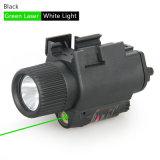 Lampe-torche M6 tactique avec la vue verte Cl15-0003G de laser