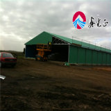 De Structuur van het staal voor het Huis van de Braadkip van het Huis van het Gevogelte/van het Landbouwbedrijf Chickend