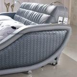 A117 Fancy Europe chambre à coucher Meubles Designer lit avec Chargeur USB lumineux à LED