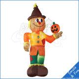 Heißer Verkaufs-aufblasbarer bekanntmachender Kürbis für Halloween-Dekoration