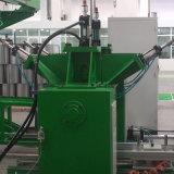 内部の給湯装置タンク生産ライン
