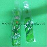 Sacchetto di plastica con figura della bottiglia per le bevande, sacchetto del tubo