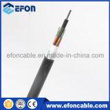 Manutenção programada 24 de GYTA cabo ao ar livre blindado da fibra óptica da fita 48 72 96 de alumínio