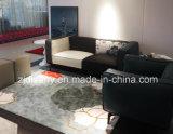 Sofà moderno italiano della casa del sofà del fiore del tessuto di stile (D-73-A+B)