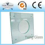 Tagliare il vetro temperato di Glassd temperato piccole parti di formati con i bordi di Polsihed