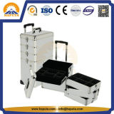 Travel Aluminium Cosmetic Beauty Tool Case for Salon (HB-3305)