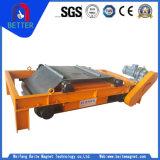 séparateur magnétique de fer permanent de largeur de courroie de 800mm pour le charbon/industrie de métallurgie