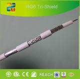 2015년 Xingfa 제조 Trishield RG6 케이블