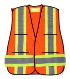 Hallo-namelijk het Weerspiegelende Vest van de Veiligheid met DwarsBand op Rug