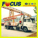 mini camion concreto della pompa dell'asta di 24m sulla vendita