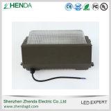 Iluminação do bloco da parede do diodo emissor de luz do UL ETL 60W 80W 120W Outdor
