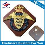 Escudo de madera al por mayor trofeo de la placa con diseño personalizado