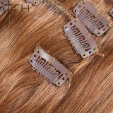 Encaixar a extensão de cabelo 100% virgem Remy Cabelo grosso encaixar no cabelo (TFH18)