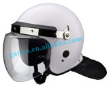 백색 반대로 난동 헬멧