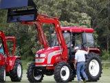Фабрика трактора горячей фермы 82HP, 4WD сбывания с аттестациями CE & ОЭСР