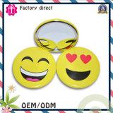 Moda Mini bolsillo del espejo Creativen sonrisa acuerdo cosmético Espejos