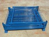 Qualitäts-Ineinander greifen-Kasten-Draht-Rahmen-Metallsortierfach-Vorratsbehälter/Ladeplatte