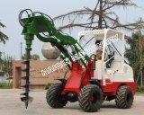 鋭い機械セリウムが付いている連結された小さい車輪のローダー(HQ910C)