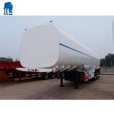 Tri-Axle 46000 litros de volumen cisterna de agua de acero inoxidable remolques