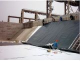 GR. 13 und ASTM Standardtextured HDPE Geomembrane