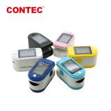 Contec CMS50DL Easy-Carry approuvé ce doigt Oxyo coloré oxymètre de pouls