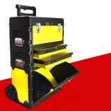 Caja de herramientas de mano portátil multifunción carro, el General estadounidense Caja de herramientas Carrito de plástico