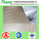 El sellado de calor del papel de aluminio papel Kraft reforzado por Scrim Hilados