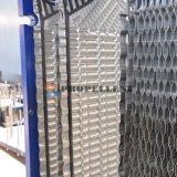 Кристаллический теплообменный аппарат плиты частицы/бегунка волокна/липкой материальной средств нержавеющей стали свободного движения широкий