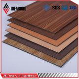 Comitato composito di alluminio di rivestimento del legno (AE-308)