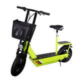 Vehículo plegable 250W Eléctrico de Transporte personal con asiento