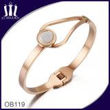 Bracelet d'imitation Ob119 d'or de Rose