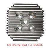 Cdh neuer CNC, der läuft, Kopf für Motor 66cc/80cc/Kopf des Fahrrad-Parts/CNC/Benzin-Bewegungszylinderkopf läuft