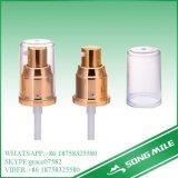 28/410 de bomba de creme dourada da alumina para o cosmético