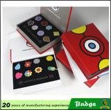 Metallo Pokemon Badge Suit con Gift Box
