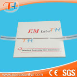 Em Etiqueta de Segurança magnética (10x40mm)