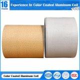 En aluminium à revêtement de couleur de la bobine avec motif en pierre de la bobine en aluminium