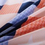 El edredón polivinílico barato del lecho de la tela de algodón cubre las hojas de base