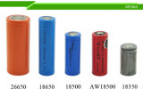 3.7V 2200mAh Batterie der Kapazitäts-18650 für Auto/Spielwaren/Taschenlampe