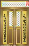 Profils en aluminium/en aluminium d'extrusion pour la porte de guichet de tissu pour rideaux