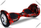 Coche elegante de la vespa del equilibrio eléctrico de dos ruedas de 8 pulgadas