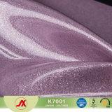 Couro do PVC do Glitter, Glitter da fonte para o couro com baixo preço, couro de venda quente do PVC do PVC do Glitter